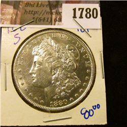 1780 . High Grade 1880-S Morgan Silver Dollar