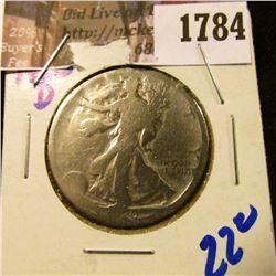 1784 . 1920-D Walking Liberty Half Dollar