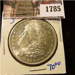 1785 . 1882-S Morgan Silver Dollar