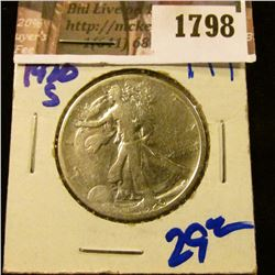 1798 . 1920-S Walking Liberty Half Dollar