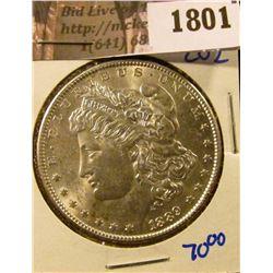 1801 . 1889 Morgan Silver Dollar