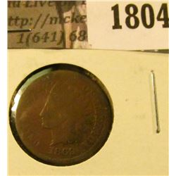 1804 . Key Date 1869 Indian Head Penny