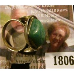 1806 . Sterling Silver Ring Size 7 Made In South Africa