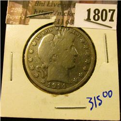 1807 . Key Date 1914 P Barber Half Dollar.  Check Your Coin Books O