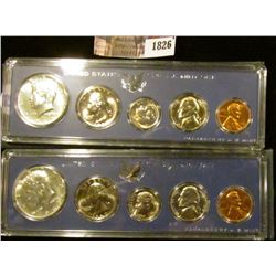 1826 . (2) 1967 Special Mint Sets.  The Half Dollars Are 40% Silver