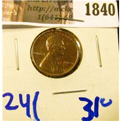 1840 . Upgrade 1909-VDB Wheat Cent