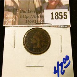 1855 . 1866 Demi Key Date Indian Head Cent