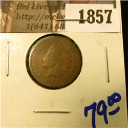 1857 . Key Date 1869 Indian Head Cent