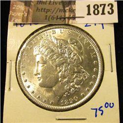 1873 . 1890 MORGAN DOLLAR