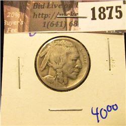 1875 . 1919-D Semi Key Date Buffalo Nickel