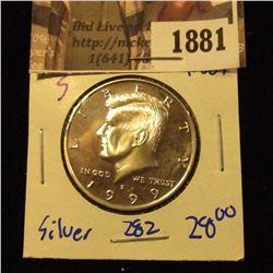 1881 . 1999-S Silver Kennedy Half Dollar