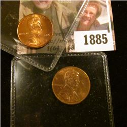 1885 . 1998- WSDDR-015 Double Die Reverse Cent.  This Particular Co