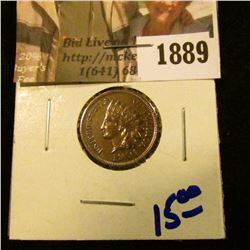 1889 . 1901 Indian Head Cent