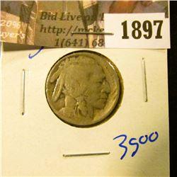 1897 . 1916-S Semi Key Date Buffalo Nickel=