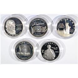 5 Commemorative Sets