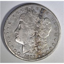 1890-CC MORGAN DOLLAR VERY FINE