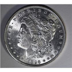 1896 MORGAN DOLLAR CHBU++