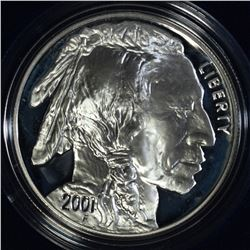 2001 AMERICAN BUFFALO PROOF COMMEM DOLLAR