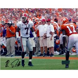 Bruce Thornton Signed Georgia 8x10 Photo (Radtke COA)