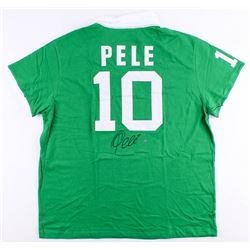 Pele Signed Cosmos Jersey (Steiner COA)