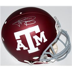 Johnny Manziel Signed Texas AM Aggies Full-Size Authentic Pro-Line Helmet (Panini COA)
