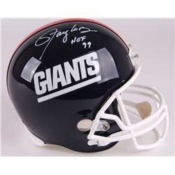 "Lawrence Taylor Signed Giants Full-Size Helmet Inscribed ""HOF 99"" (Radtke COA)"