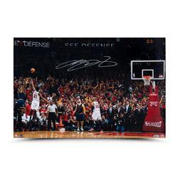 LeBron James Signed Cavaliers 16x24 Photo (UDA COA)