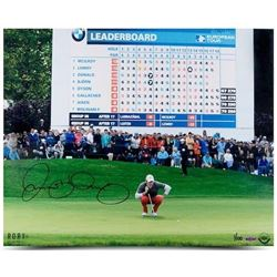 "Rory McIlroy Signed ""Scoreboard"" 16x20 Photo (UDA COA)"