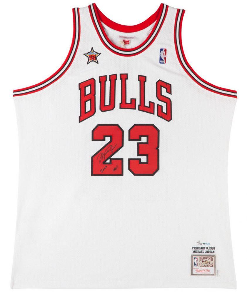 wholesale dealer 5ce9b 5ac55 Michael Jordan Signed Limited Edition Bulls 1998 NBA All ...