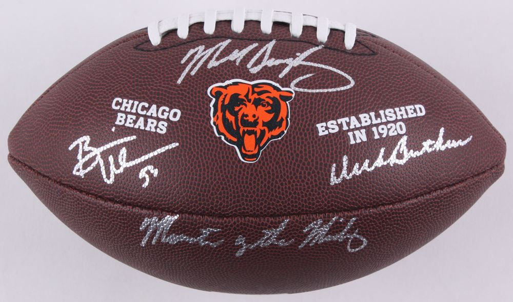 cheap for discount 5d8bd f81c0 Dick Butkus, Mike Singletary, Brian Urlacher Signed Bears ...