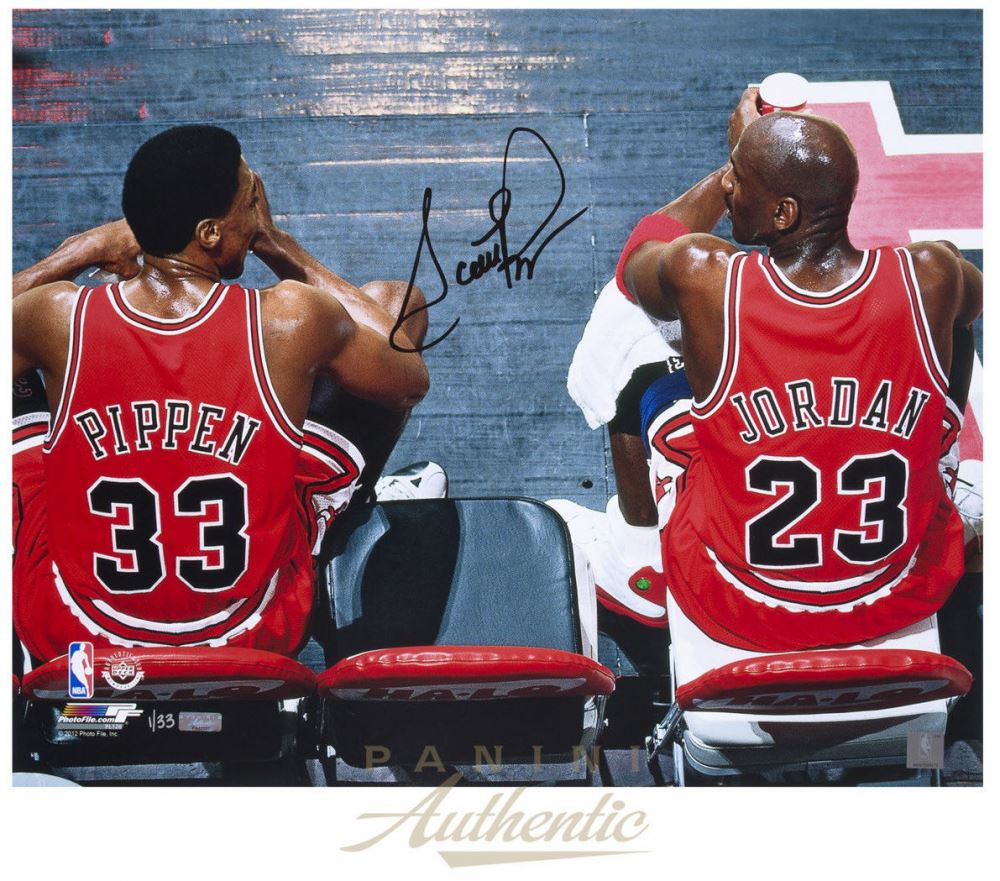 11464fdc280a03 Image 1   Scottie Pippen Signed Bulls