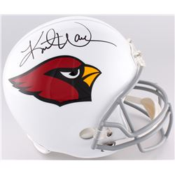 Kurt Warner Signed Cardinals Full-Size Helmet (Warner Hologram)