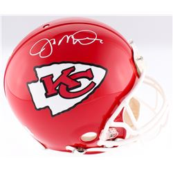 Joe Montana Signed Chiefs Authentic On-Field Full-Size Helmet (Montana Hologram)