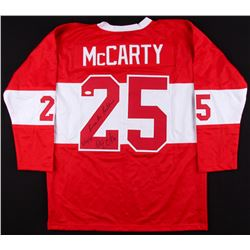 "Darren McCarty Signed Red Wings Jersey Inscribed ""B**** A** Beatdown""  ""3/26/97"" (JSA COA)"