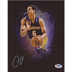 Jordan Clarkson Signed Lakers 8x10 Photo (PSA COA)