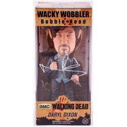 "Norman Reedus Signed ""The Walking Dead"" Daryl Dixon Funko Wacky Wobbler Bobble Head (Radtke COA)"