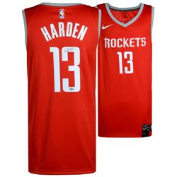 James Harden Signed Rockets Nike Jersey (Fanatics)