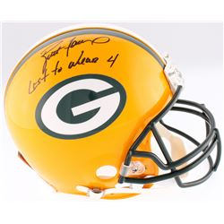 "Brett Favre Signed LE Packers Full-Size Authentic On-Field Helmet Inscribed ""Last to Wear 4"" (Favre"