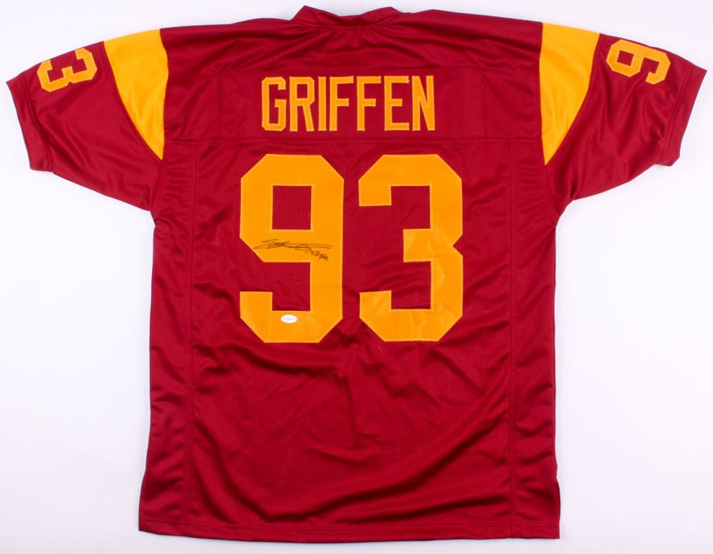 pretty nice 1efc4 09774 Everson Griffen Signed USC Trojans Jersey Inscribed