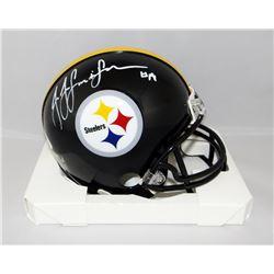 JuJu Smith-Schuster Signed Steelers Mini Helmet (JSA COA)