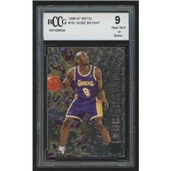 1996-97 Metal #181 Kobe Bryant (BCCG 9)