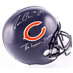 Tarik Cohen Signed Bears Full-Size Helmet Inscribed  The Human Joystick  (Schwartz COA)