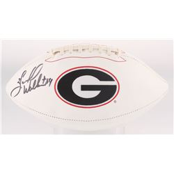 Herschel Walker Signed Georgia Bulldogs Logo Football (Radtke COA)