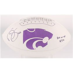 Darren Sproles Signed Kansas State Logo Football Inscribed  Eat Em Up KSU  (Radtke Hologram)
