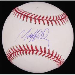 Matt Holliday Signed OML Baseball (Fanatics Hologram  MLB Hologram)