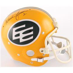 Roger Staubach Signed Edmonton Eskimos Throwback Suspension Full-Size Helmet (TriStar Hologram)