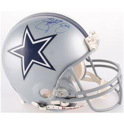 Eddie George Signed Cowboys Authentic On-Field Full-Size Helmet (TriStar Hologram)