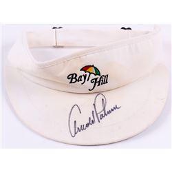 Arnold Palmer Signed Bay Hill Sun Visor (JSA COA)