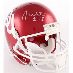 Jason White Signed Oklahoma Sooners Full-Size Helmet (JSA COA)