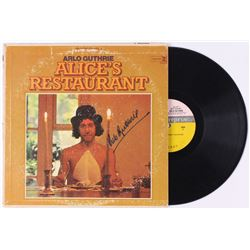"Arlo Guthrie Signed ""Alice's Restaurant"" Vinyl Record Album (JSA COA)"